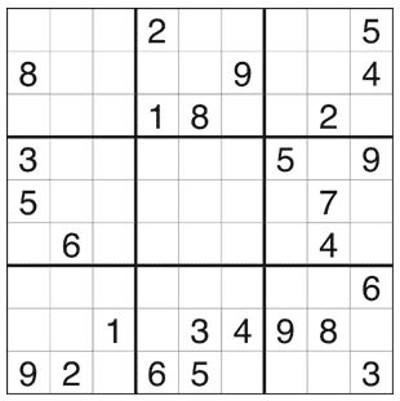 graphic about Hard Sudoku Puzzles Printable identified as Absolutely free Printable Sudoku Puzzles for Seniors DailyCaring